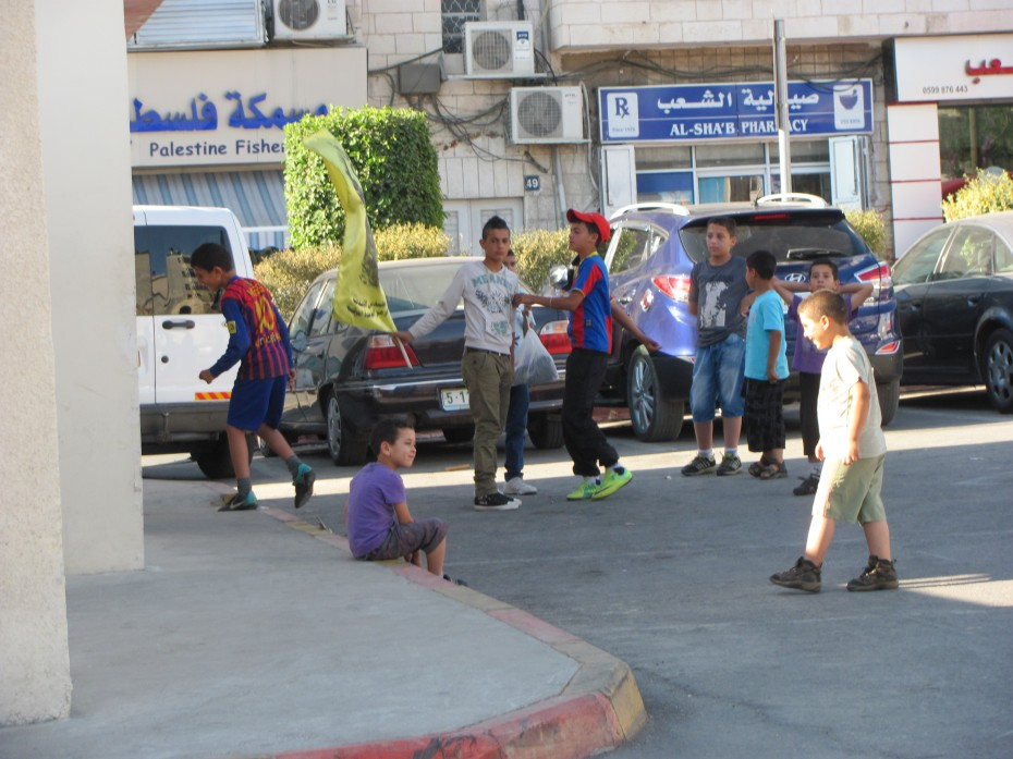 Children in Ramallah